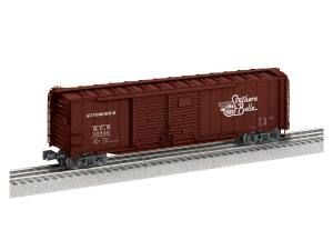 50' Double Door Boxcar #20856 - Kansas City Southern