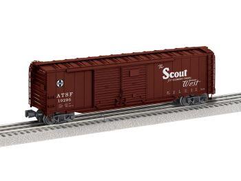 50' Double Door Boxcar #10295  - Santa Fe  Scout