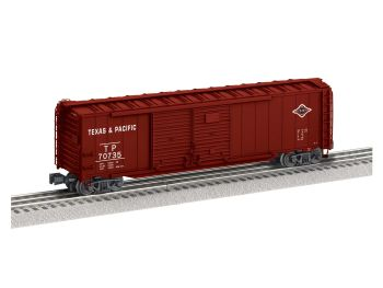 50' Double Door Boxcar #70735 - Texas & Pacific