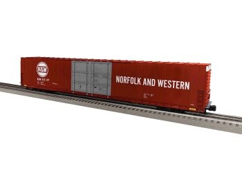 86' 4 Door High Cube Boxcar #355197 - N&W