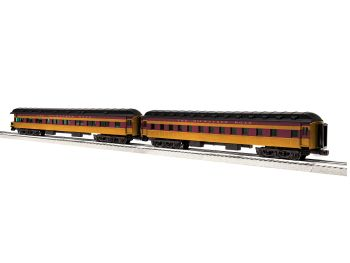"Milwaukee Road Columbian 18"" 2 Pack D (Sleeper / Observation)"