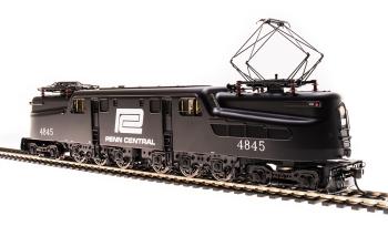 GG1 Electric, Penn Central #4845, Black w/ White Logo, Paragon3 Sound/DC/DCC