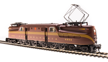 GG1 Electric, PRR #4857, Tuscan Red, 5-Stripe, Buff Lettering & Stripes, Roman Lettering, Paragon3 Sound/DC/DCC