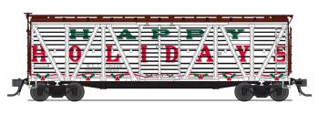 """Holiday Season Stock Car, """"Happy Holidays"""", Holiday Sounds"""