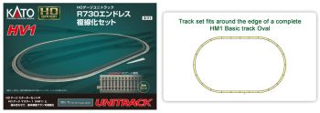 HV-1 R730 Track Set for Double Tracking HM-1 HO