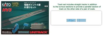 HV-3 Interchange Track Set w/#4 Remote Switches HO
