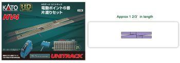 HV-4 Interchange Track Set w/#6 Remote Switches HO