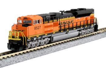 """EMD SD70ACe Nose Headlight Version - BNSF """"Swoosh"""" #8527 with Pre-installed DCC"""