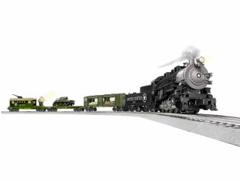 US Military Steam  0-8-0  LionChief Set w/ Bluetooth