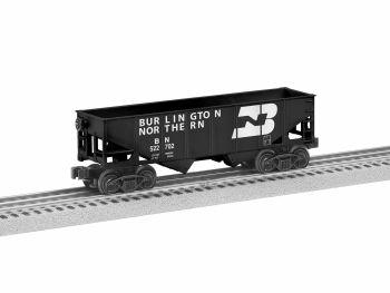 2-Bay Hopper Burlington Northern  6-Pack