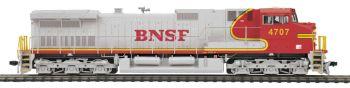 Dash-9 Diesel BNSF #4707 Proto-Sound 3.0