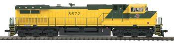 Dash-9 Diesel CNW #8672 Proto Sound 3.0