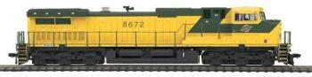 Dash-9 Diesel CNW #8672  DCC Ready