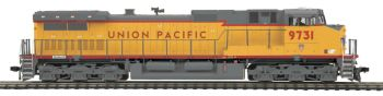 Dash-9 Diesel Union Pacific  #9731 DCC Ready