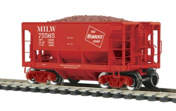 70-Ton Center Discharge Ore Car - Milw.Rd. #75565
