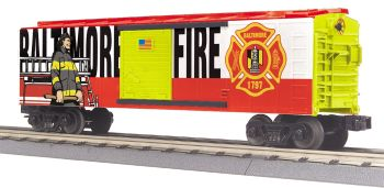 Fire Dept. Boxcar - Baltimore