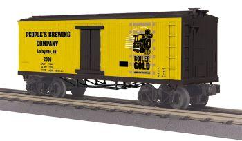 19th Century Reefer Car - Boiler Gold Beer  #2006
