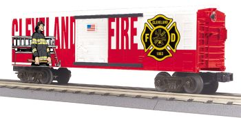 Fire Dept. Boxcar - Cleveland