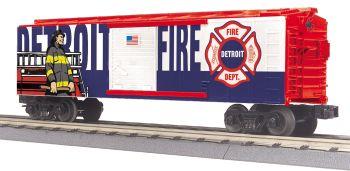 Fire Dept. Boxcar - Detroit