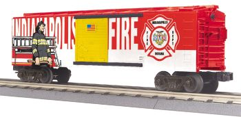Fire Dept. Boxcar - Indianapolis