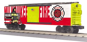 Fire Dept. Boxcar - Milw.Rd.