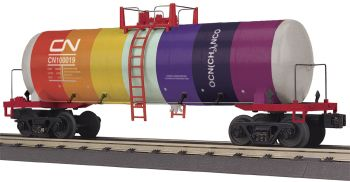 Modern Tank Car - Canadian National (Color) #100019