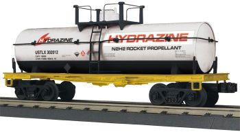Smoking Tank Car - Hydrazine Corporation #301012