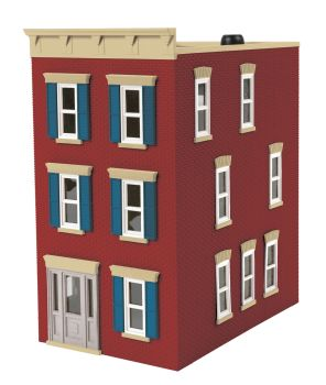 3-Storey Town House #2 - City Brick Red