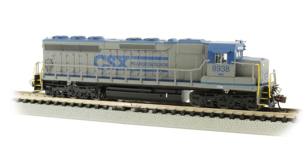 SD45 Diesel CSX #8938 DCC Sound