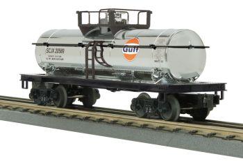 Tank Car - Gulf (Chrome Plated) #20589