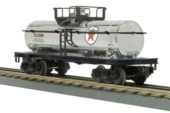 Tank Car - Texaco (Chrome Plated) #20698