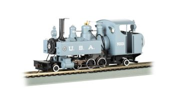Trench Engine - USA #5001 (builder's photo version) DCC WOWSOUND