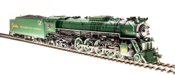 "C&O J3a 4-8-4, #614, ""The Greenbrier Presidential Express"", Paragon3 Sound/DC/DCC, Smoke"