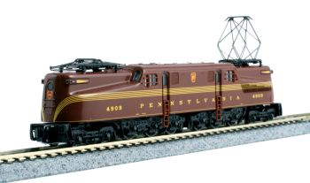 GG1 PRR #4909 Tuscan Red 5-Stripe w/ Pre-Installed DCC
