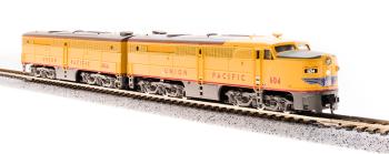 Alco PA/PB Set, UP #604/604B, Yellow & Gray, A-unit w/ Paragon3 Sound/DC/DCC, Unpowered B-unit