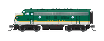 EMD F7 A/B, SOU 4248/4414, As-Delivered Green, A-unit Paragon3 Sound/DC/DCC, Unpowered B
