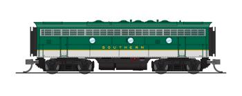 EMD F7B, SOU 4421, As-Delivered Green, Paragon3 Sound/DC/DCC