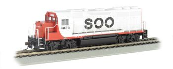Soo Line #4603 - GP40 - DCC Sound Value