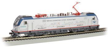 Amtrak #602 Mobility Scheme - Siemens ACS-64 - DCC Sound