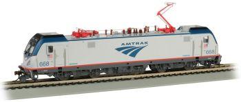 Amtrak #668 - Siemens ACS-64 - DCC Sound