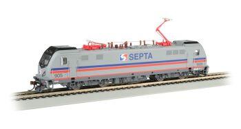 SEPTA 905 - Siemens ACS-64 - DCC Sound