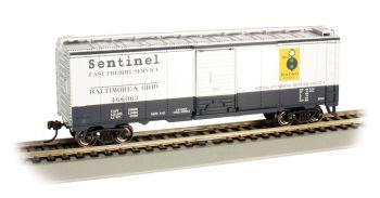 B&O #466063 - SENTINEL - 40' Box Car (HO Scale)
