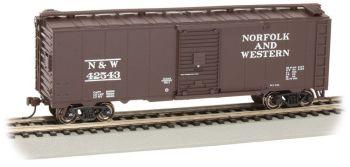Norfolk & Western #42543 - Steam Era 40' Box Car (HO Scale)