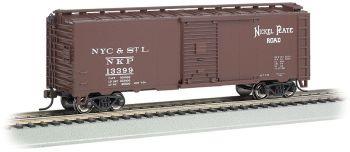 Nickel Plate Road # 13163 - Steam Era 40' Box Car (HO Scale)