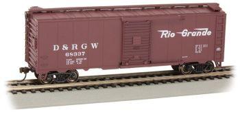 Rio Grande™ # 68337 - Steam Era 40' Box Car (HO Scale)