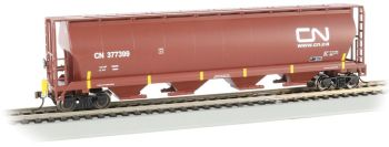 Canadian National #377375 - Cylindrical Grain Hopper with FRED