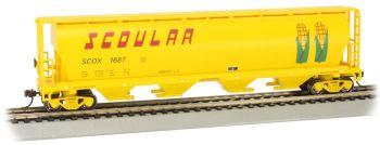 Scoular #1687 - 4 Bay Cylindrical Grain Hopper