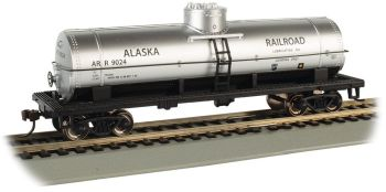 Alaska Railroad #9024 - 40' Single-Dome Tank Car (HO Scale)