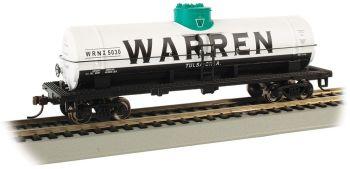 Warren Petroleum #5030 - 40' Single-Dome Tank Car (HO Scale)