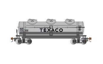 Texaco #7518 - 40' Three-Dome Tank Car (HO Scale)